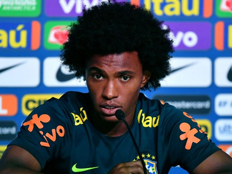 World Cup 2018: Willian Warns Eden Hazard As Chelsea Teammates Prepare To Clash At World Cup