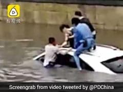 She Was Trapped Inside Sinking SUV. Strangers Came Together To Rescue Her