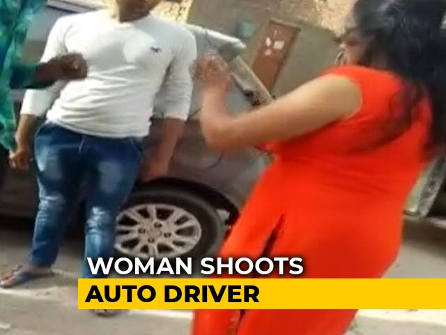 Video : Woman Allegedly Fired At Auto Driver After Fight Over Parking In Gurgaon