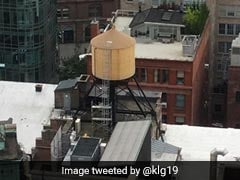 Guess What The Water Tanks On New York Rooftops Are Made Of