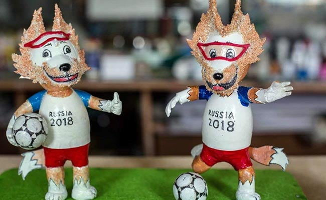 This Retired Teacher Is Turning Eggshells Into World Cup Mascots