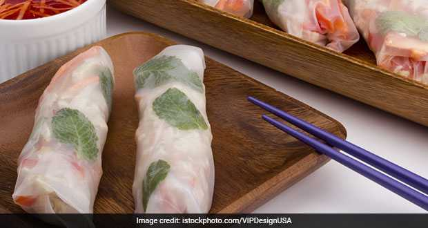 Chilled Rice Wraps