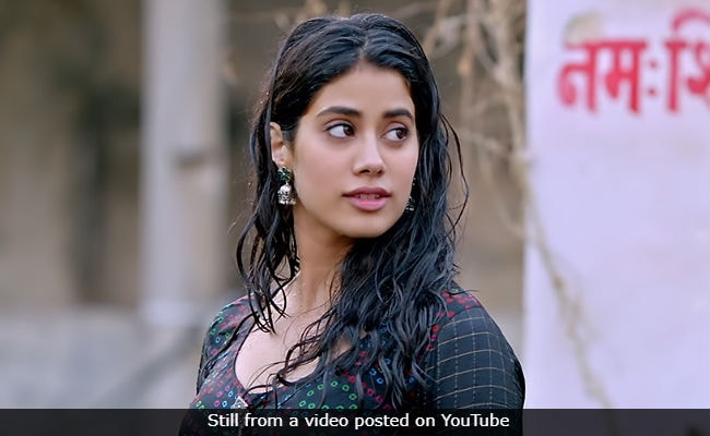 In This Dhadak Scene, Janhvi Kapoor Thought It Was Sridevi And Not Her