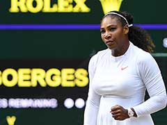 Serena Williams advances to Wimbledon final