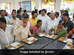 "Anna Canteen Now In Andhra Pradesh. Benchmark - ""KFC"" Says Chief Minister"