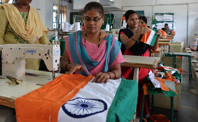 Be proud of this women who makes Indian Flag