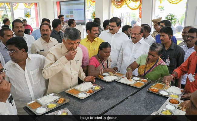 Anna Canteen Now In Andhra Pradesh. Benchmark - 'KFC' Says Chief Minister