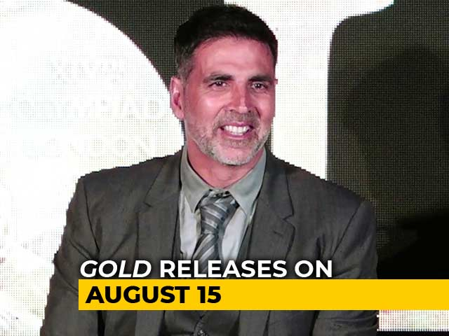 Video : Akshay Kumar On His Upcoming Sports Film <i>Gold</i>