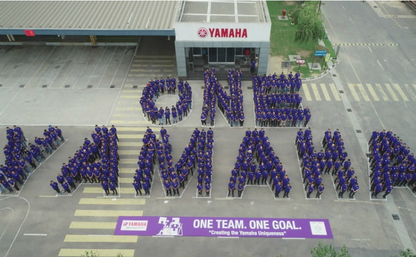 Yamaha India employees celebrated Yamaha Day across all Yamaha facilities