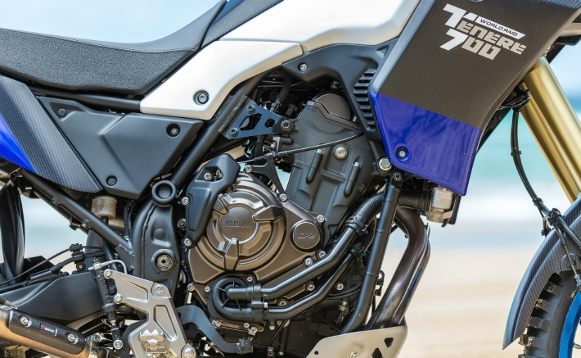 yamaha tenere 700 powered by 689 cc parallel twin engine