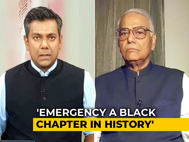 Video : PM Modi Has Created Emergency-Like Situations: Former BJP Leader Yashwant Sinha