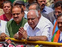When Karnataka BJP Jumped The Gun With BS Yeddyurappa Swearing-In Tweet