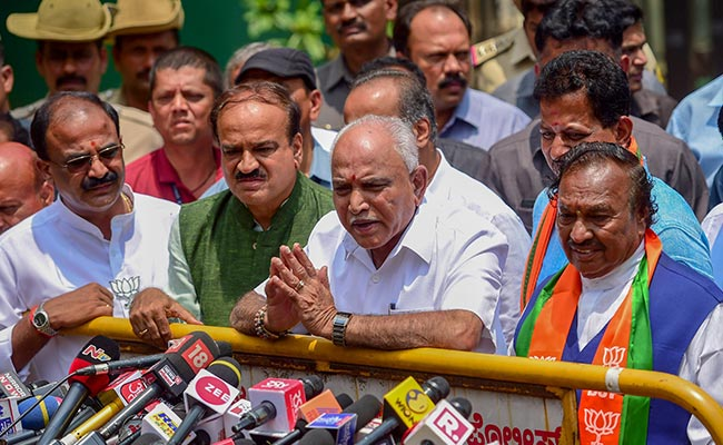 When Karnataka BJP Jumped The Gun With BS Yeddyurappa Swearing-In Tweet