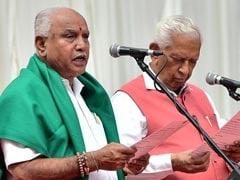 New Karnataka Law Officer, Police Reshuffle As Yeddyurappa Takes Charge