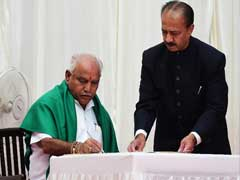 BS Yeddyurappa One Day Chief Minister, Says Congress In Jibe At Karnataka Swearing-In