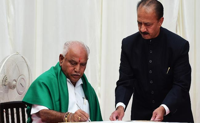 BS Yeddyurappa One Day Chief Minister, Says Congress In Jibe At Karnataka Swearing-In