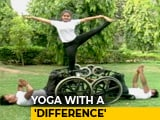 Video : On International Yoga Day, The Differently Abled Show Their Skills