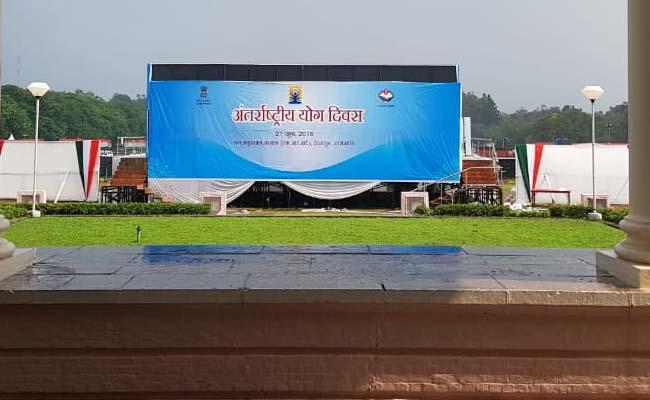 पीएम मोदी अंतरराष्ट्रीय योग दिवस के मौके पर 55 हजार लोगों के साथ करेंगे योग