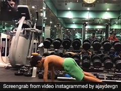 Ajay Devgn Kajol Son Yug Devgan Joins Hum Fit Toh India Fit Challenge