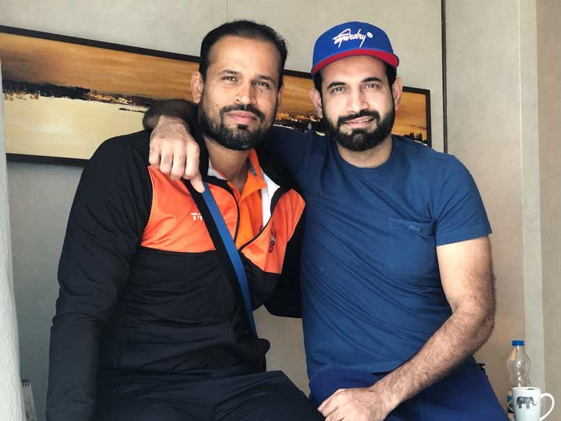 Yusuf Pathan Takes Fitness Challenge, Nominates Irfan Pathan And Piyush Chawla
