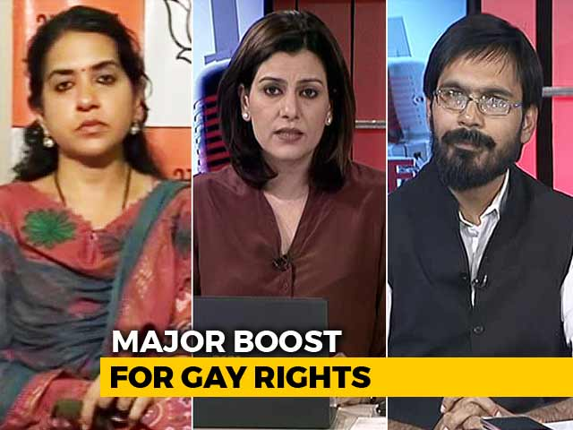 "Video : ""Centre Won't Take Stand On 377"": Parties Let India Down On Legalising Gay Sex?"