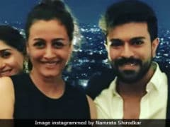 Namrata Shirodkar Parties With Ram Charan At Shirya And Anindith's Post-Wedding Bash