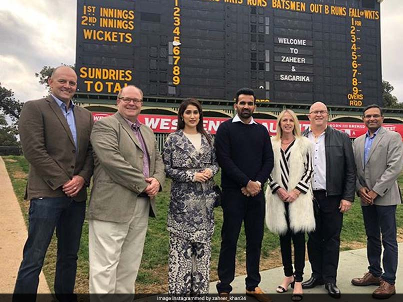 Zaheer Khan Felicitated At Adelaide Oval, Posts A Thank You Message