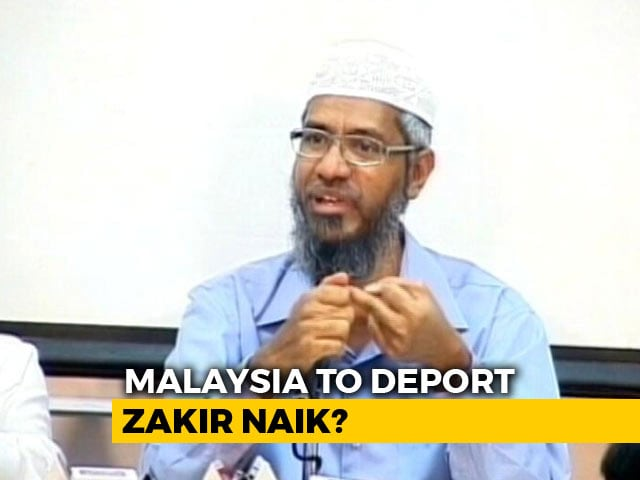 Video : Controversial Preacher Zakir Naik Denies Report Of His Return To India