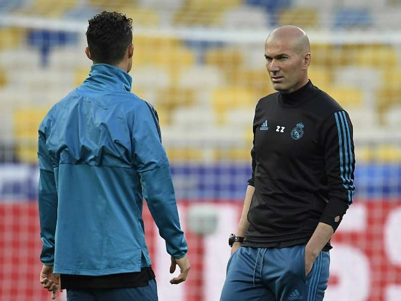 Zinedine Zidane: Real Madrid not feeling like favourites in Champions League final