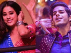 <i>Dhadak</i> Song <I>Zingaat</i>: Janhvi Kapoor's Expressions Are Charming, Yes, But It's Ishaan Khatter You Want To See All Through