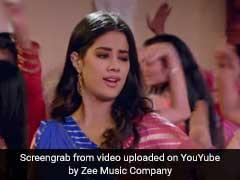 Zingaat Song: बालकनी पर जमकर थिरकीं श्रीदेवी की बेटी, 'झिंगाट' के लिए बोल्ड हुईं जाह्नवी कपूर