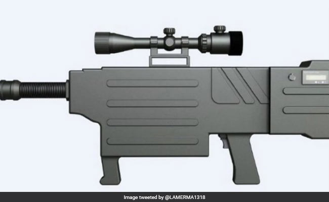 Chinese Firm Develops Laser Gun To Set Fire To Protesters' Hair